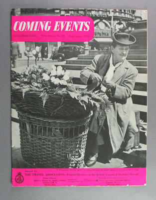 """Magazine, """"Coming Events"""" September 1948"""