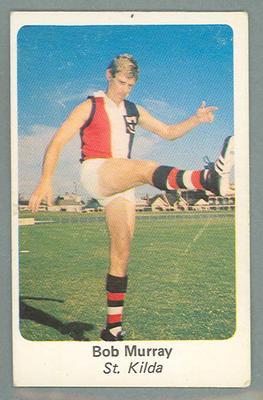 1971 Sunicrust Australian Football, Bob Murray trade card