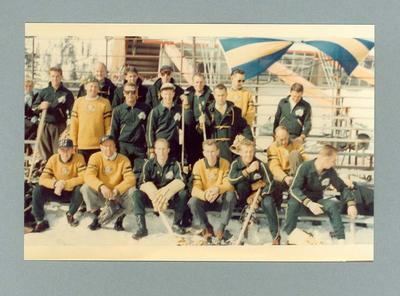 Photograph of Australian 1960 Winter Olympic Games Ice Hockey team