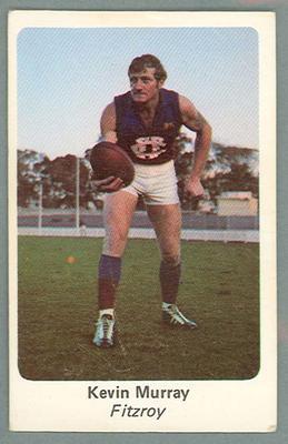 1971 Sunicrust Australian Football, Kevin Murray trade card
