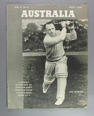 """Magazine, """"Australia"""", vol 4 no 6 April 1948"""