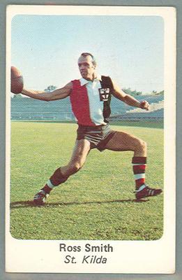 1971 Sunicrust Australian Football, Ross Smith trade card