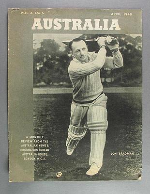 """Magazine, """"Australia"""" vol 4 no 6 April 1948"""