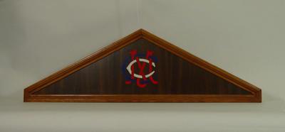Honour board header, Melbourne Cricket Club insignia