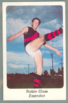 1971 Sunicrust Australian Football, Robin Close trade card