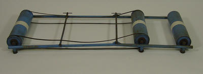 Training roller made by Malvern Star, used by Bob Pearson for bicycle training