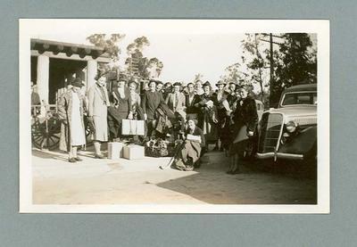 Collection of postcards, Australian women's hockey team USA tour 1936
