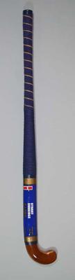 "Blue ""Stuart Surridge"" brand hockey stick"