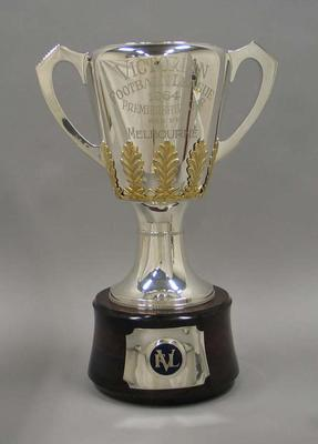 1964 VFL Premiership Cup, awarded to Melbourne Football Club