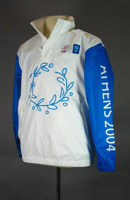 Rain jacket - 2004 Athens Olympic Games Torch Relay uniform