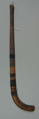Hockey stick, used by Florence Faul c1920s-30s
