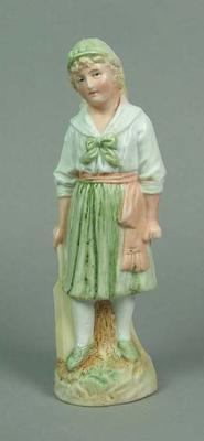Figurine, female cricketer