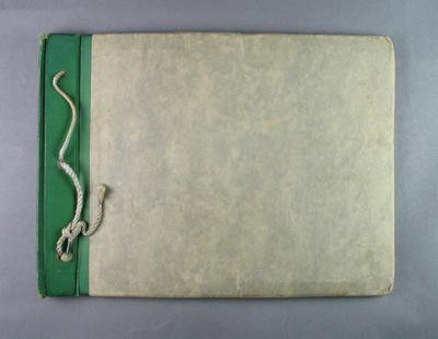 Photograph album, contains photos of Shirley Strickland and other Australian athletes c1950