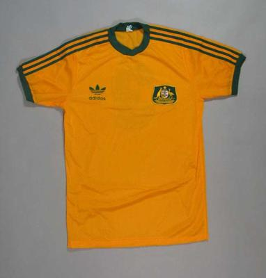 Short Sleeved Shirt soccer shirt worn by Alan Davidson 1989