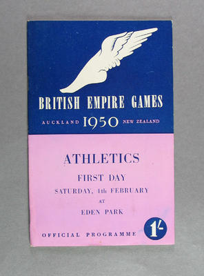 Programme for 1950 British Empire Games athletics events, 4 February