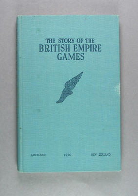 "Book, ""The Story of the British Empire Games"""