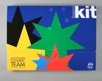 Information kit, 2000 Australian Olympic Games team