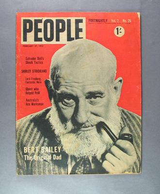 "Magazine, ""People"" vol 2 no 26 27 February 1952"