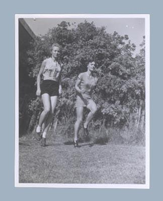 Photograph of Shirley Strickland with Verna Johnson, c1952; Photography; 2003.3903.722
