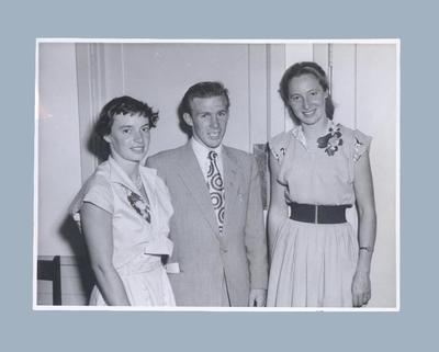 Photograph of Shirley Strickland with Verna Johnston, c1952; Photography; 2003.3903.734