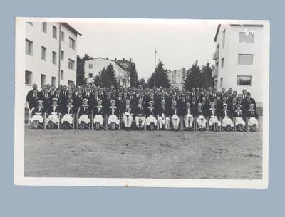 Photograph of Australian team, 1952 Helsinki Olympic Games