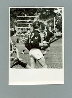 Black and white photograph, Australian Lacrosse Team members, Hong Kong 1967; Photography; 1986.1443.1