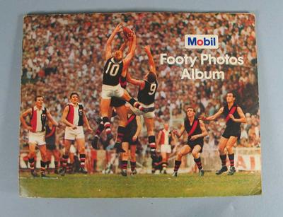 Mobil Footy Photos Album, 1966; Documents and books; 1989.2181.2