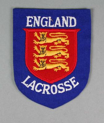 Cloth badge - England Lacrosse Team