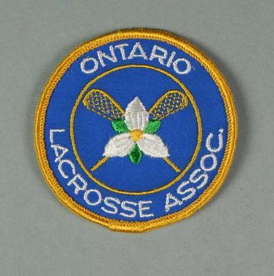 Cloth badge - Ontario Lacrosse Association