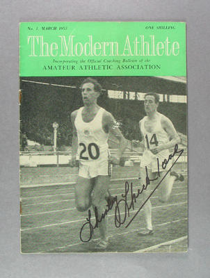 "Magazine, ""The Modern Athlete"" - March 1953"