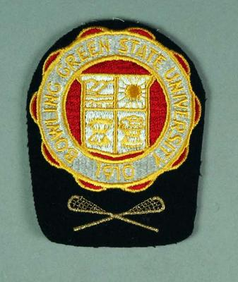 Cloth badge - Bowling Green State University 1910