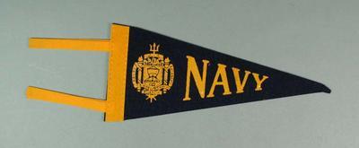 Car Pennant - Naval Academy Lacrosse team
