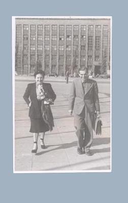 Photograph of Hans & Liese-Charlotte Stolze, c1953; Photography; 2003.3903.868