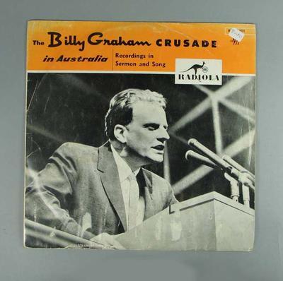 LP Record - The Billy Graham Crusade in Australia