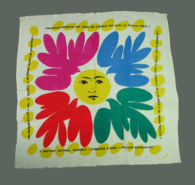 Scarf, International Friendly Sports Meeting of Youth - 1955