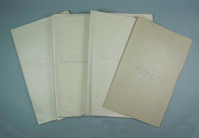 Documentation, associated with the Australian Baseball Council and Victorian Baseball Association - 1957-62