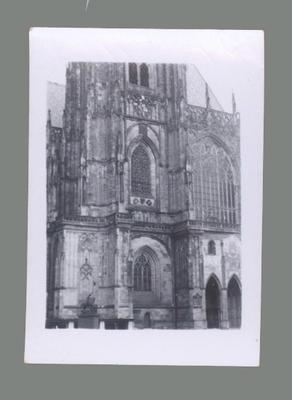 Photograph of Palace Church, Prague 1955