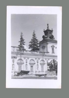 Photograph of Polish Palace, c1955