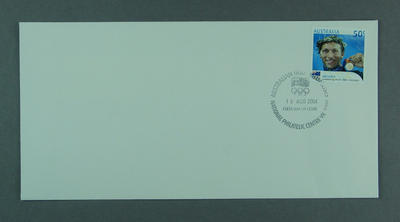 First day cover - Australian Gold Medalists: Ian Thorpe - issued 16/8/2004
