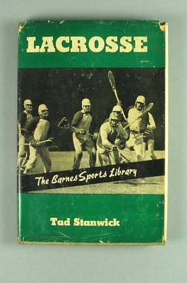 Book, ''Lacrosse''