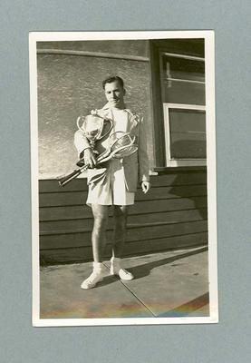 Photograph of Eric Metcalf, c1949