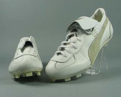 "Pair of Puma ""Super Series"" baseball shoes"