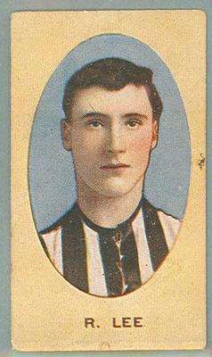 1909-10 Standard Cigarettes Australian Footballers Dick Lee trade card