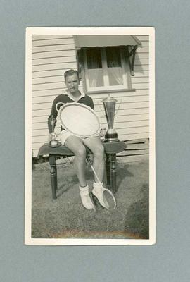 Photograph of Eric Metcalf, c1951