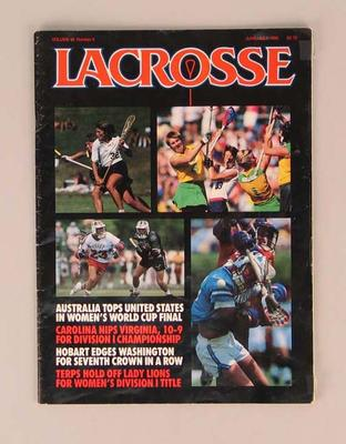 Magazine, 'Lacrosse' Vol 10 No 4
