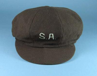 South Australian Baseball League cap, c1930