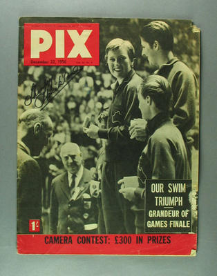 """Magazine, """"PIX"""" vol44 no3 22 Dec 1956"""