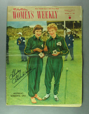 "Magazine, ""The Australian Women's Weekly"" 12 Dec 1956"