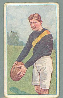 1922 Magpie Cigarettes Victorian League Footballers James Smith trade card