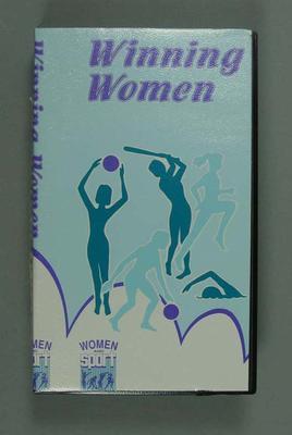 """Video, """"Winning Women"""" c1991"""